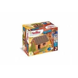 Obrázek Stavebnice Teifoc Malý domek 35ks v krabici 18x15x8cm