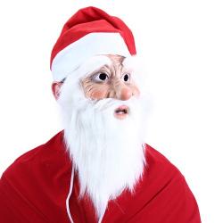 Obrázek maska santa claus s čepicí