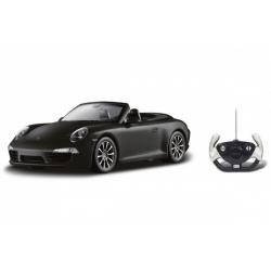 Obrázek Auto RC Porsche 911 Carrera S Cabriolet plast 35cm na baterie v krabici 50x21x22,5cm
