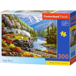 Obrázek Puzzle 300 dílků - Vlak Eagle River