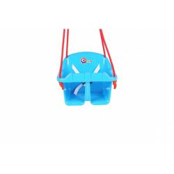 Obrázek Houpačka Baby plast modrá nosnost 20kg 36x30x29cm 24m+