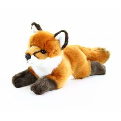 Obrázek plyšová liška ležící, 23 cm