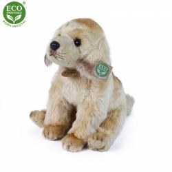 Obrázek Plyšový labrador sedící 27 cm ECO-FRIENDLY