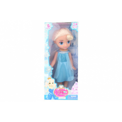 Obrázek Sněhová panenka blondýnka