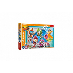 Obrázek Puzzle Ptačí kadeti/Top Wing 41x21,5cm 100 dílků v krabici 29x19x4cm