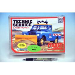 Obrázek Stavebnica Monti 01 Technik Service Land Rover 1:35