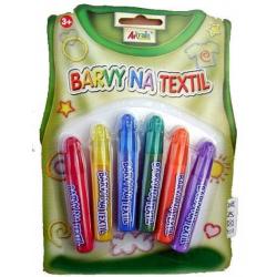 Obrázek Základní barvy na textil- na blistru