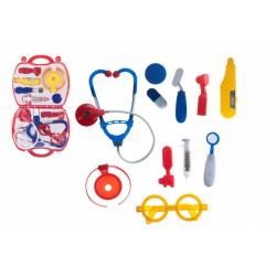 Obrázek Sada doktor/lékař plast v plastovém kufříku v blistru 23x40x4cm