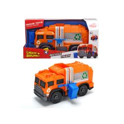 Obrázek Action Series Popelářské recyklační auto 30cm