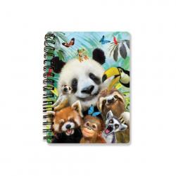 Obrázek Zápisník A6 Zoo selfie 3D
