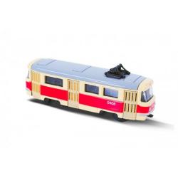 Obrázek Tramvaj kov 8cm v krabičce 10,5x5x5cm