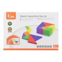 Obrázek Dřevěné magnetické tangramy