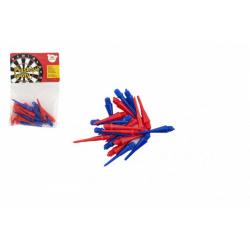 Obrázek Plastové hroty 20ks k házecím šipkám v sáčku 6x9cm