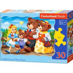 Obrázek Puzzle Castorland 30 dílků - Mášenka a 3 medvědi
