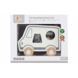 Obrázek Dřevěná tahačka a vkládačka - nákladní auto