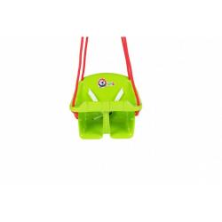 Obrázek Houpačka Baby plast zelená nosnost 20kg 36x30x29cm 24m+