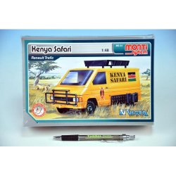 Obrázek Stavebnice Monti 04 Keňa Safari Renault Traffic 1:48