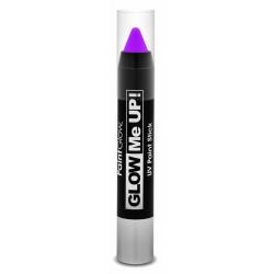Obrázek Tužka na obličej UV neon 3,5 g fialová (purple)