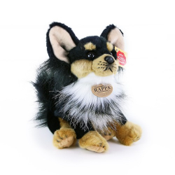 Obrázek plyšový pes čivava sedící, 24 cm