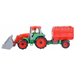 Obrázek Truxx Traktor s prívesom na seno v krabici