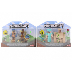 Obrázek Minecraft 8 cm figurka dvojbalení  GTT53