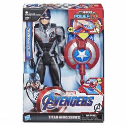 Obrázek Hasbro Avengers Titan Hero Power FX Kapitán Amerika 30 cm figurka