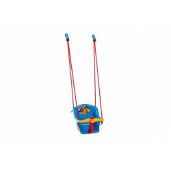 Obrázek Houpačka Baby s pískátkem plast modrá nosnost 20kg  35x34x35cm