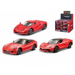 Obrázek Auto Bburago 7cm kov 1:64 Ferrari Race & Play - 24ks v DBX