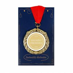 Obrázek ALBI Přání s medailí - Důchodce