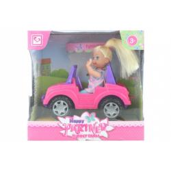 Obrázek Panenka s autíčkem