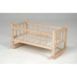 Obrázek Kolíska pre bábiky drevo 49x28x27cm