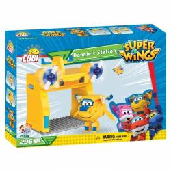 Obrázek Cobi 25134  Super Wings Donnieho stanice 296 k
