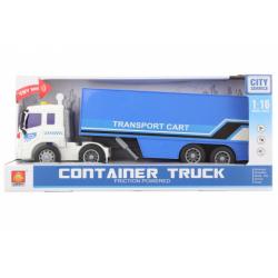 Obrázek Kamion modrý na baterie
