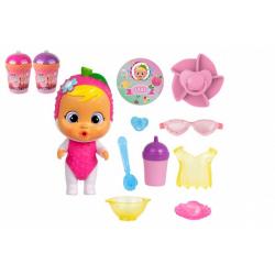 Obrázek CRY BABIES Magické slzy série Tutti Frutti panenka s doplňky v plastové dóze 12x17x19cm 9ks v boxu