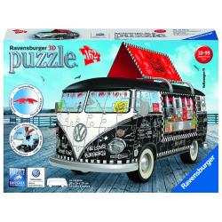 Obrázek Puzzle 3D VW autobus motív 2 3D 162 dielikov