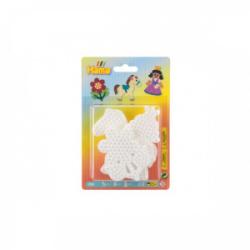 Obrázek Podložka na zažehlovací korálky - kytička,koník, princezna plast 3ks na kartě 12x18x3cm