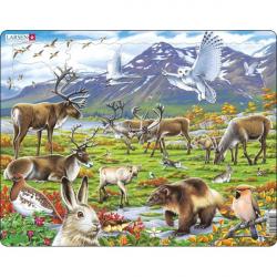 Obrázek Puzzle Zvířata ve stepi 50 dílků