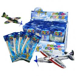 Obrázek letadlo házecí polystyrénové, 2 ks