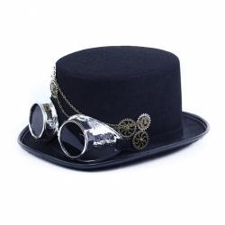Obrázek klobouk s brýlemi písečný muž 2v1