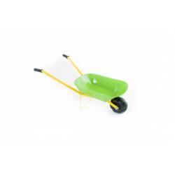 Obrázek Kolečko plechové zelené 75x30x40cm v sáčku