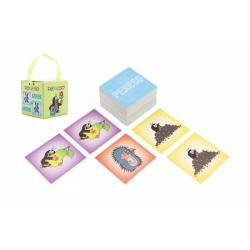 Obrázek Pexeso Krtek papírové společenská hra 32 obrázkových dvojic v papírové krabičce 6x6cm