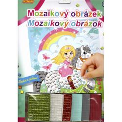 Obrázek Mozaikový obrázek - Popelka na koni