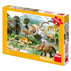 Obrázek Puzzle Život dinosaurů 100DXL