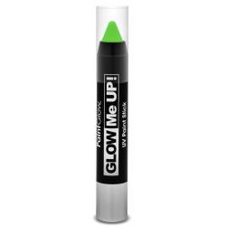 Obrázek Tužka na obličej UV neon 3,5 g zelená (green)