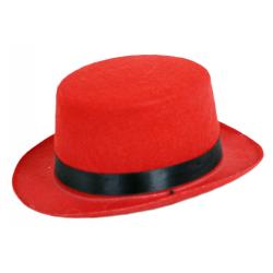 Obrázek klobouk buřinka mini červená