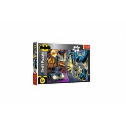 Obrázek Puzzle Nebojácný Batman 100 dílků 41x27,5cm v krabici 29x19x4cm
