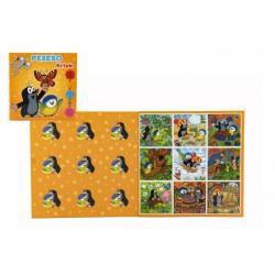 Obrázek Pexeso Krtek a sýkorka 2x18 kartiček společenská hra