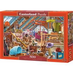 Obrázek Puzzle Castorland 500 dílků - Přeplněná půda