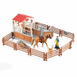 Obrázek Sada ohrada pro koně se stájí