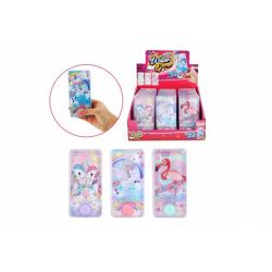 Obrázek Vodní hra hlavolam pro holky plast 7x14cm 3 druhy 24ks v boxu